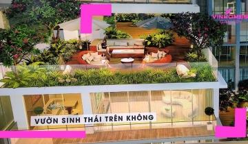Độc Đáo Vườn Sinh Thái Trên Không- Chung cư Vinhomes Gallery Giảng Võ