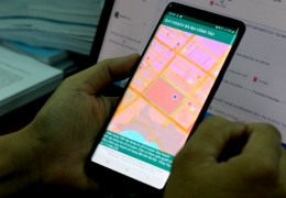 Người Bà Rịa - Vũng Tàu xem thông tin quy hoạch trên smartphone
