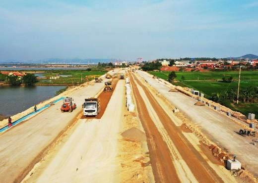 Đẩy nhanh thi công đường nối KCN Cái Lân với cao tốc Hạ Long - Vân Đồn